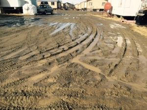 muddy drive